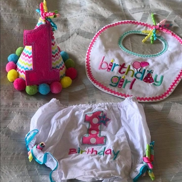 Mud Pie First Birthday Set M 5be9c5199539f79958e016a0